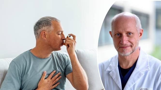 """Kortademig? Het is niet altijd corona, zegt pneumoloog: """"Er zijn mensen die astma hebben zonder dat ze het beseffen"""""""