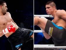 Badr Hari en Rico Verhoeven in Oberhausen in de ring
