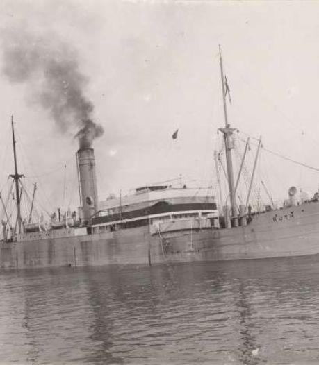 Hoe een gebombardeerd Zweeds stoomschip Urker kotter Lummetje mogelijk fataal werd