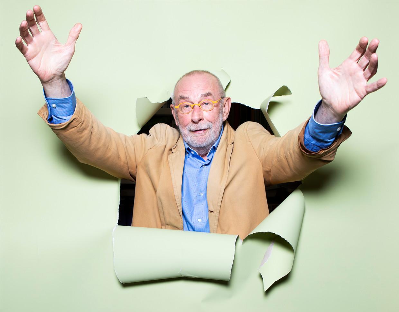 Hans Dorrestijn: 'Ik heb mijn grappen heel lang binnenboord gehouden. Gespaard voor het papier.'