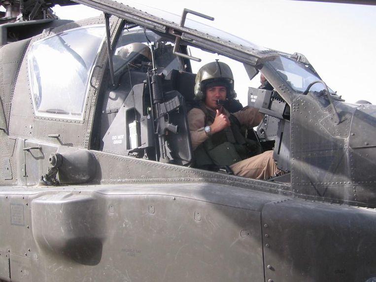 Apachevlieger Roy de Ruijter Beeld -