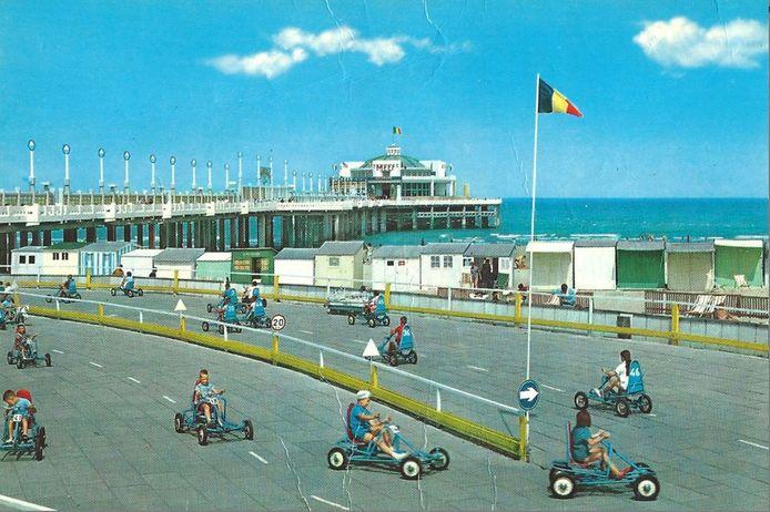 Rondjes rijden met zicht op de pier en de zee: generaties kinderen deden het sinds 1963 tijdens hun vakantie of een schooluitstap.