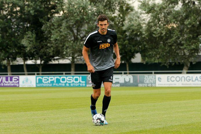 Joran Triest moet bij RC Gent dit seizoen voor de doelpunten zorgen.