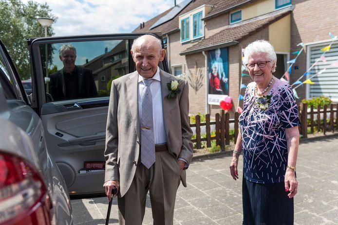 Piet en Gonny Knapen in Deurne.