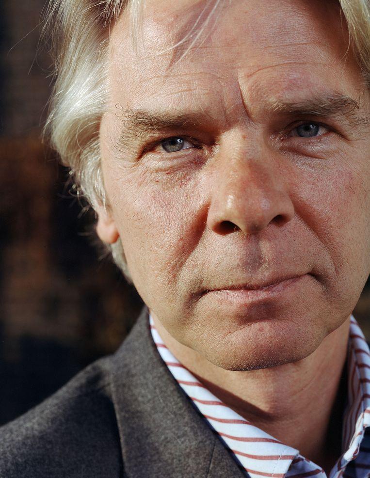 De Nederlandse hoogleraar op rust Henri Beunders.