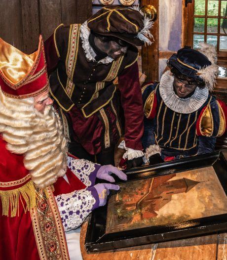 Borculo haalt Sinterklaas pas 's avonds in: intocht met lampionnen en schoorsteenpieten