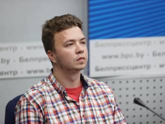 """Gevangen dissident """"opgevoerd als trofee"""" tijdens Wit-Russische persconferentie over afleiden Ryanair-vlucht"""
