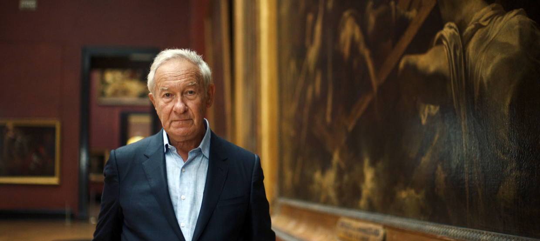 De Britse (cultuur)historicus Simon Schama  Beeld BBC/Oxford Films