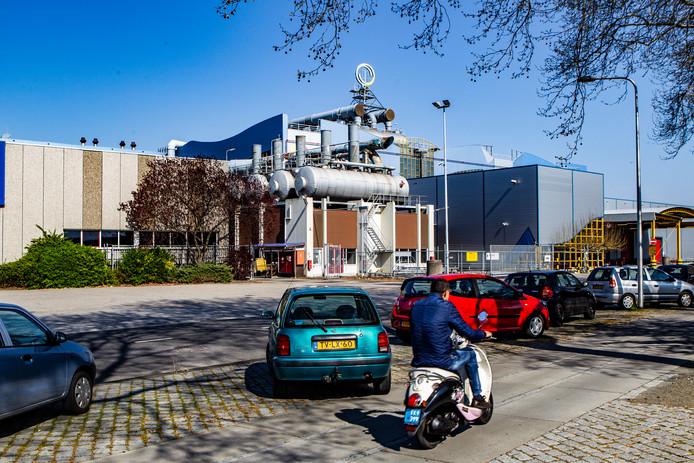 Het complex van Roto Smeets in Deventer. Daar werkten 290 mensen. Vorige week werd bekend dat er definitief geen doorstart komt voor de failliete drukkerij.