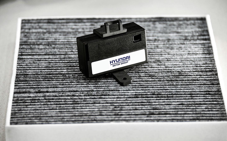 Deze lasersensor monitort de luchtkwaliteit.