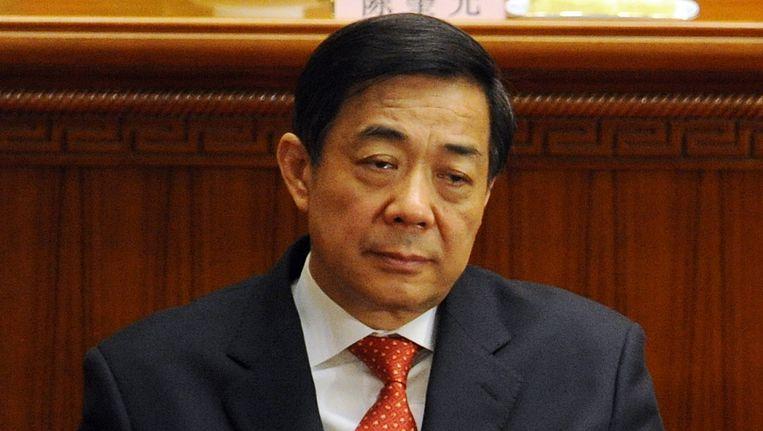 Bo Xilai Beeld AFP