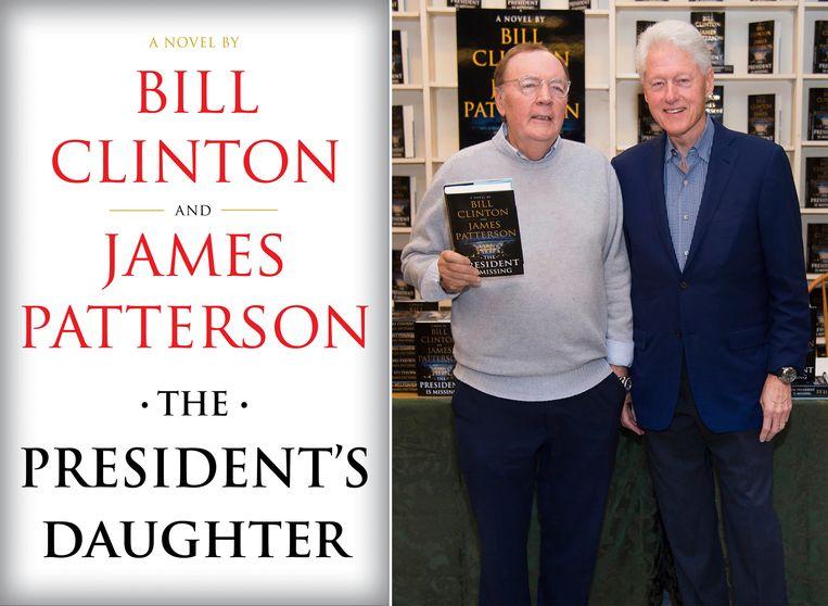 James Patterson (links) en Bill Clinton brengen samen een tweede boek uit.