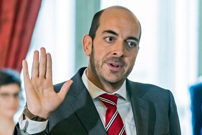 Staatssecretaris voor Digitalisering Mathieu Michel (MR).