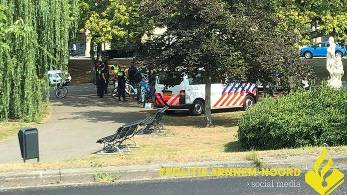 Onlangs hield de politie ook een controle in het Musispark.