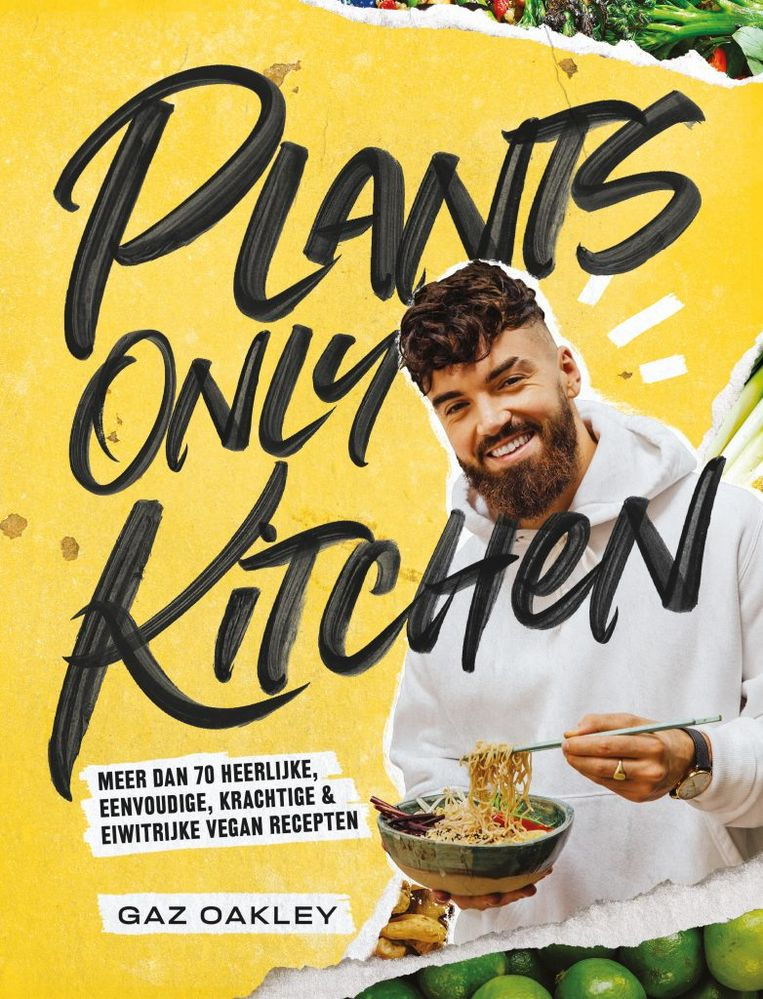 Tijdgeest lijstjes nummer kookboeken plants only kitchen Beeld -