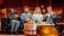Ronny Mosuse, Tourist LeMC, Emma Bale en Willy Sommers in 'Liefde Voor Muziek'
