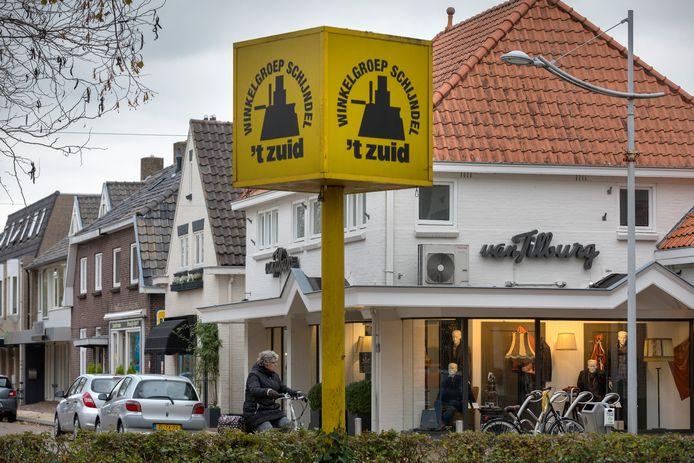 Winkelgebied 't Zuid in Schijndel heeft zich afgesplitst van het centrum.