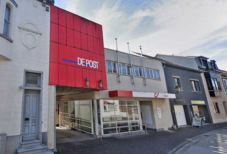 Het postkantoor in de Gemeentehuisstraat.