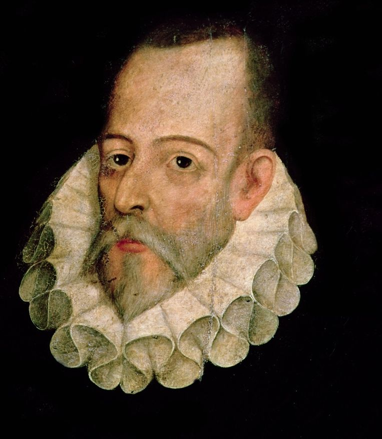 Miguel Cervantes Beeld Wikimedia Commons