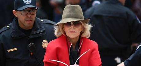 Jane Fonda voor vierde week op rij gearresteerd