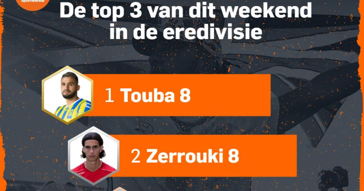 Uitblinker Zerrouki bezorgt Vitesse-vedette Tannane een onvoldoende - AD.nl