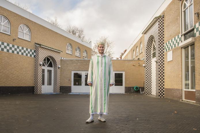 De Arraham moskee in Breda met imam Brahim Alaoui.