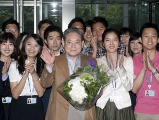Iconische Samsung-baas, die ooit 150.000 gsm's verbrandde, overleden