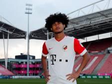 Nieuwe spits van FC Utrecht scoort in ieder geval al op social media