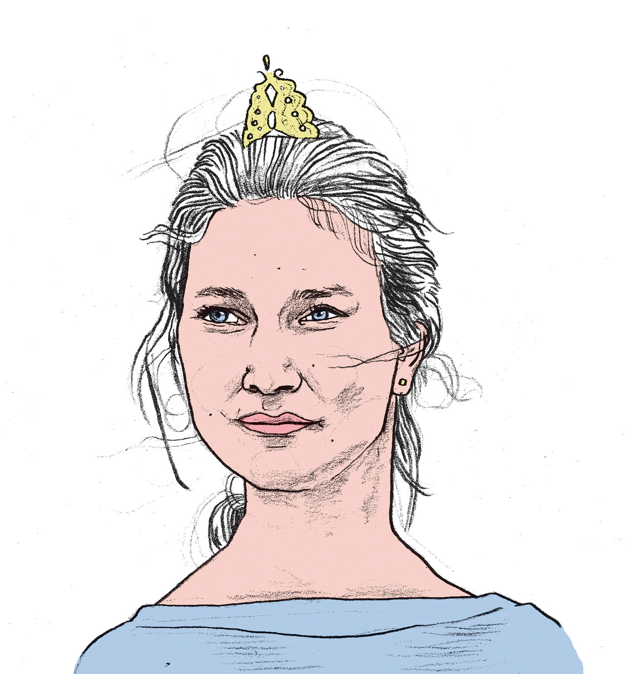 Prinses Elisabeth. Beeld Gijs Kast