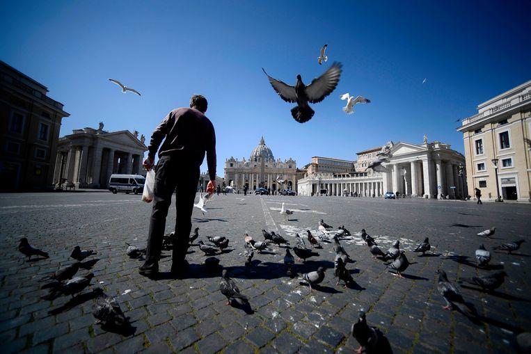 Italië moest de grootste economische terugval sinds de Tweede Wereldoorlog slikken. Beeld AFP