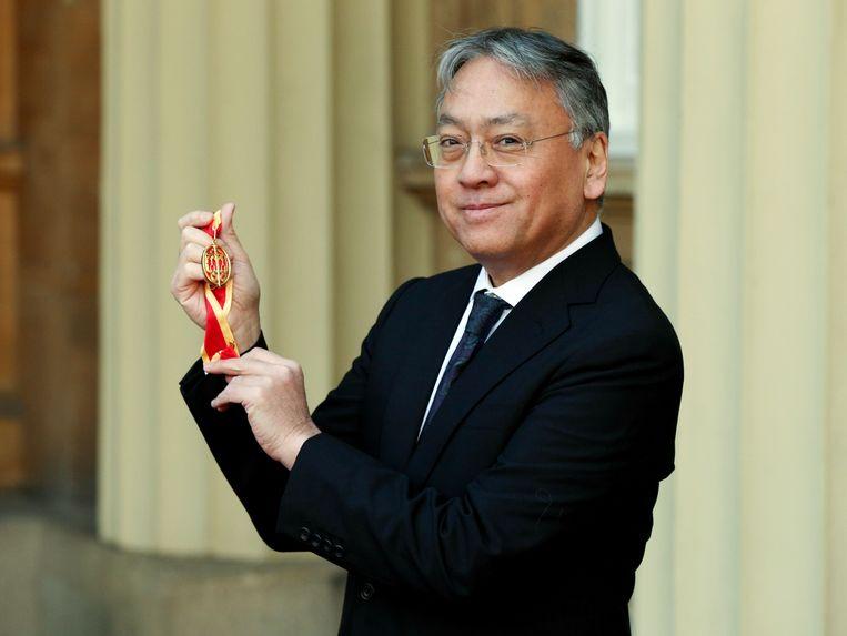 Kazuo Ishiguro won de Nobelprijs literatuur in 2017 Beeld AFP