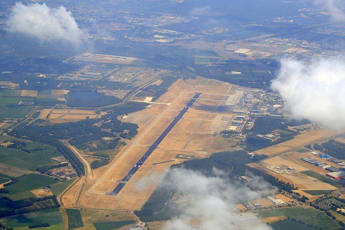 Eindhoven Airport op in de zomer van 2018
