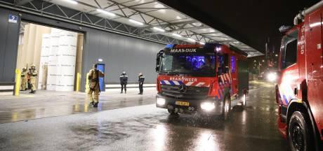 Brand bij verpakkingsbedrijf in De Lier, BHV'ers voorkomen erger