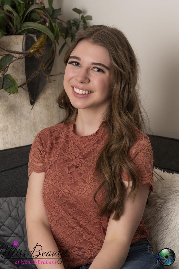 Elles Mollema is een van de finalisten voor Miss Teen of Noord-Brabant.