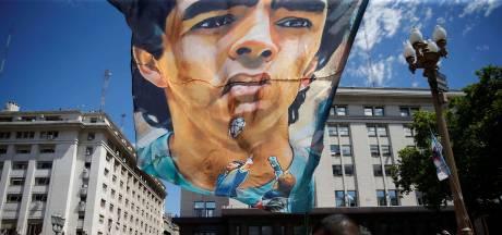 Lichaam van Maradona moet bewaard blijven voor DNA-onderzoek