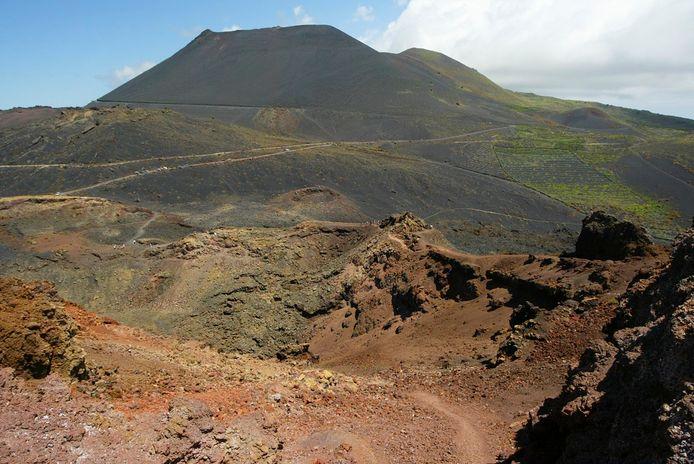 Foto ter illustratie. La Palma.