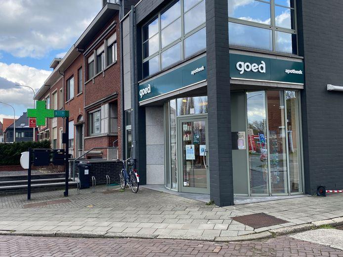 Apotheek 'goed' op de Leuvensesteenweg te Aarschot.