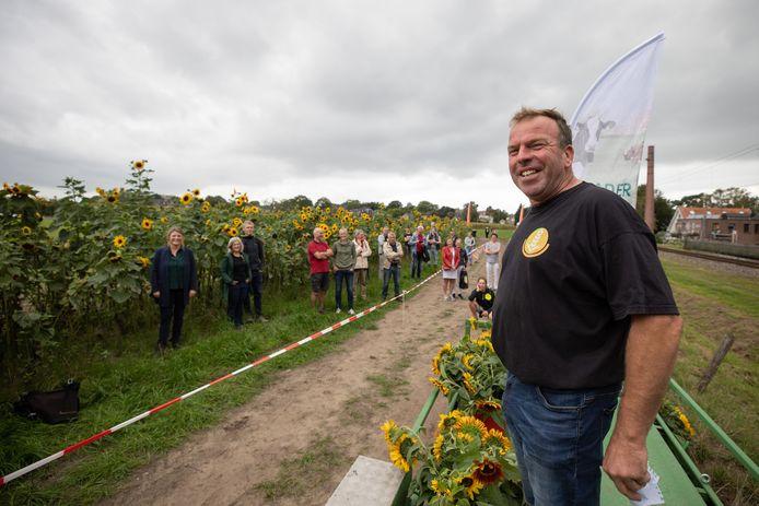 Pieter Kuijer in de Soester Engtuin