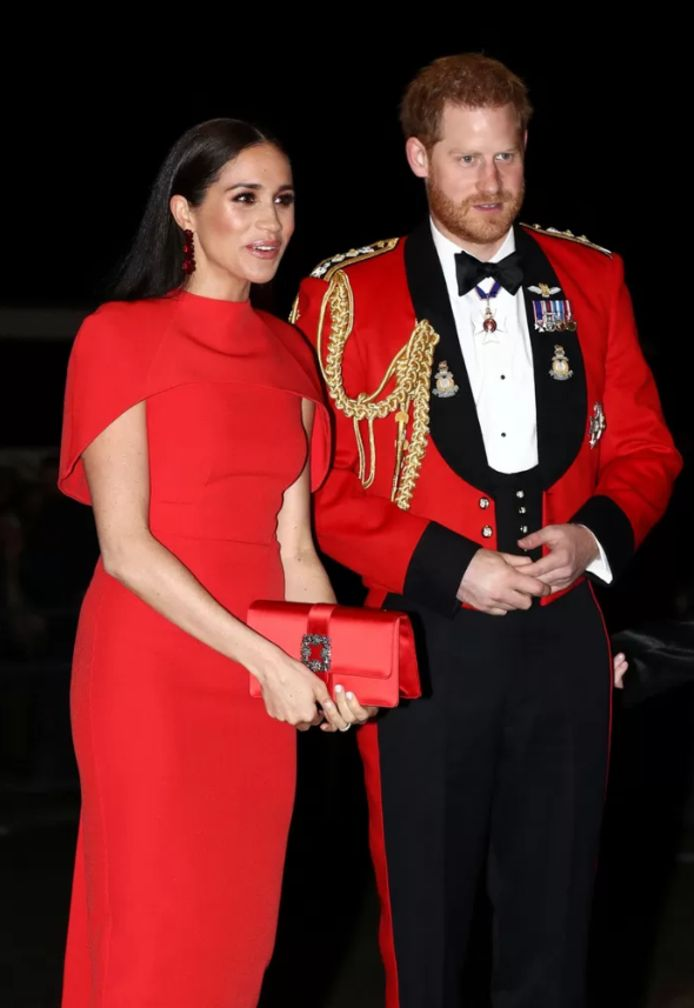 Meghan Markle lors de l'une de ses dernières apparitions en tant que membre de la famille royale.