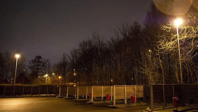 De voormalige tippelzone aan de Imstenraderweg in Heerlen.