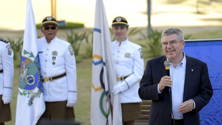 Thomas Bach. Beeld Getty Images