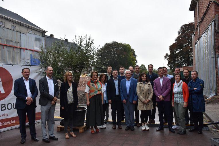 Alle partners zijn klaar voor het project Pieter Behaeghel.
