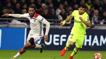 Kansen troef, maar geen goals: Denayer en Lyon houden Barcelona in eigen huis in bedwang