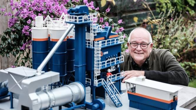 Gerard (70) bouwt een asfaltfabriek: 'Ik kom nu al tafels tekort'