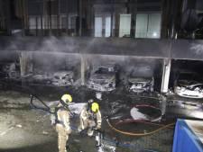 Een jaar cel en behandelverplichting voor verdachte garagebrand Wateringse Veld