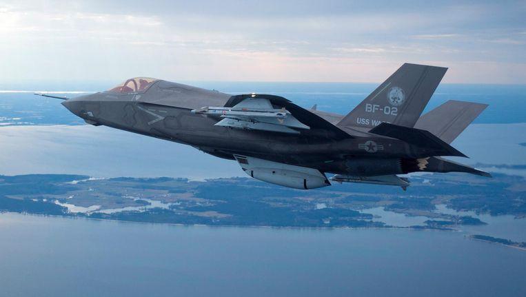 De JSF, nu omgedoopt tot de F-35. Beeld Reuters