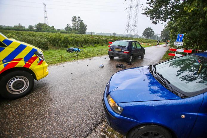 Een scootterrijder raakte zwaargewond na een aanrijding in Nuenen.