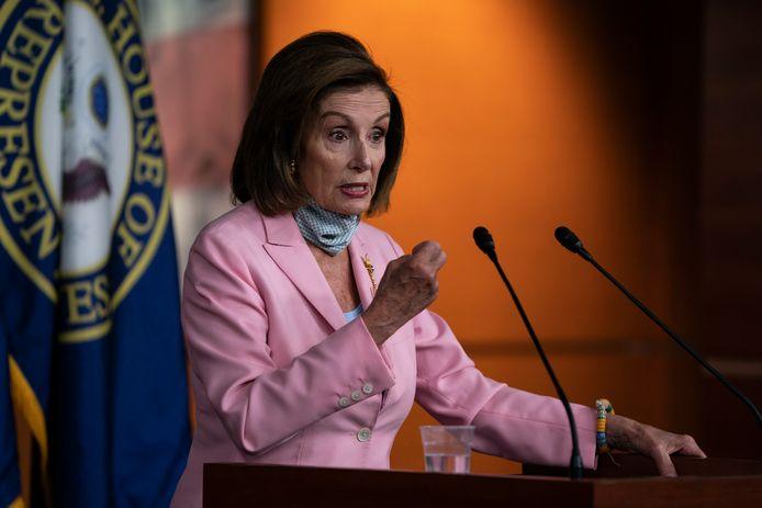 Nancy Pelosi non è soddisfatta del caso.