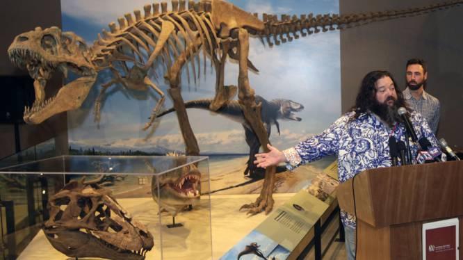 Skelet van voorvader T-Rex ontdekt in Utah