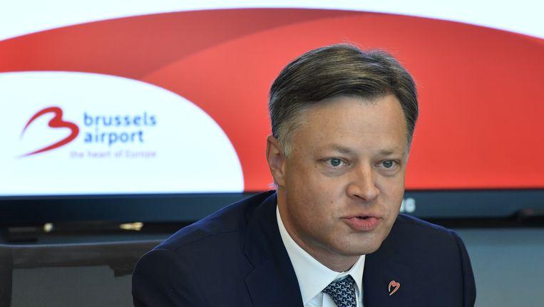 Arnaud Feist, CEO van Brussels Airport. Beeld BELGA